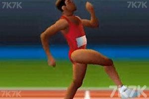 《百米赛跑》游戏画面1