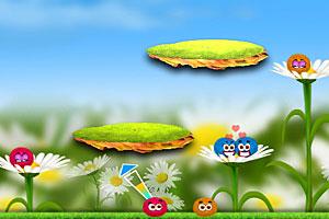 《彩色毛球配对选关版》游戏画面1