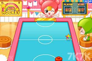 《可爱桌上曲棍球》游戏画面2