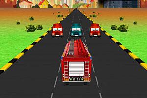 《急速消防车》游戏画面1