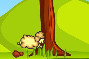 《小羊的旅行无敌版》游戏画面1