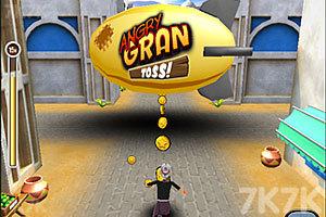 《愤怒奶奶玩跑酷3》游戏画面3