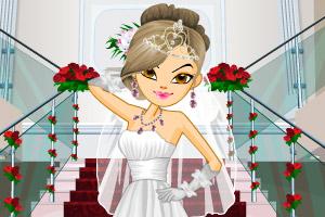 《公主时尚婚纱》游戏画面1