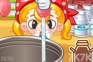 《小美挤牛奶》截图4