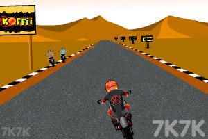 《摩托计时赛》游戏画面4