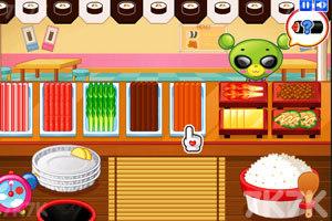 《小熊猫做紫菜包饭》游戏画面3