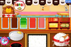 《小熊猫做紫菜包饭》游戏画面1