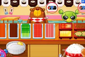 《小熊猫做紫菜包饭》游戏画面5