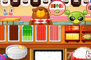 《小熊猫做紫菜包饭》游戏画面6