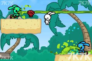 《流浪兔大营救2无敌版》截图2