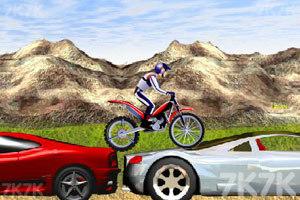 《疯狂特技摩托》游戏画面2