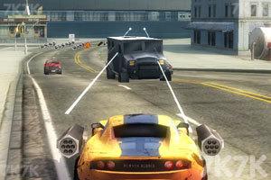 《激情燃烧的赛车》游戏画面4