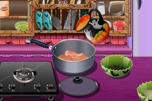 《跟莎拉学做南瓜饼干》游戏画面1