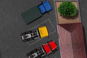 《重型卡车停靠无敌版》游戏画面1