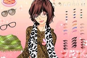 《新款性感豹纹衫》游戏画面4