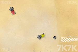 《沙地赛车》游戏画面2
