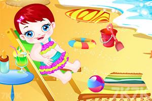 《卢卢娃海滩之旅》游戏画面5