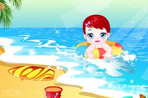 《卢卢娃海滩之旅》游戏画面2