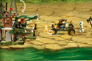《乐高赤马防御战》游戏画面1