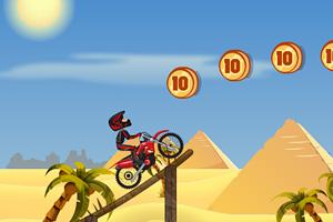 《金字塔摩托特技无敌版》游戏画面1