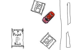 《涂鸦停车场无敌版》游戏画面1