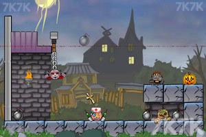 《炸弹炸毁小人》游戏画面2