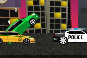 《飞速汽车逃亡无敌版》游戏画面1