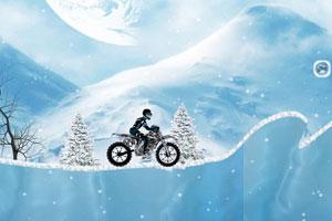 《冰雪摩托选关版》游戏画面1