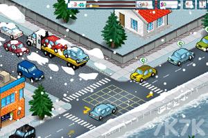 《称职的交警冬季版》游戏画面1