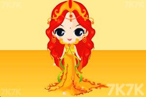 《卡通公主换装》游戏画面10