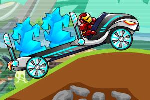 《钢铁侠开卡车》游戏画面1