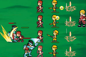 《勇士军团》游戏画面1