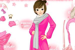 《时尚少女冬装》游戏画面4
