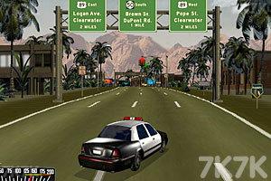 《警车追捕逃犯》游戏画面3