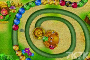 《小熊祖玛》游戏画面2