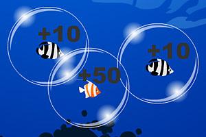 《深海泡泡捕鱼》游戏画面1