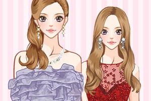 《时尚礼服派对》游戏画面1