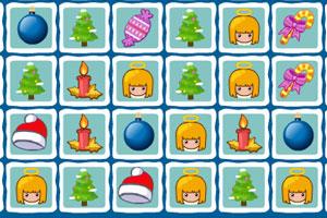 《欢乐圣诞碰碰消》游戏画面1
