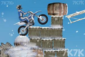 《冬季特技摩托》游戏画面4