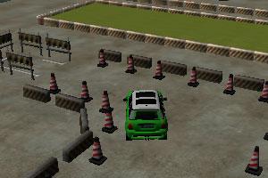 3D真实停车