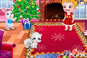 《可爱宝贝过圣诞节》游戏画面3