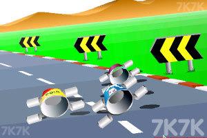 《公路汽车比赛》游戏画面7