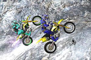 《3D极限越野摩托圣诞版》游戏画面4