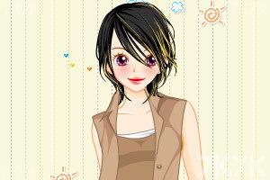 《上班女孩换装》游戏画面1