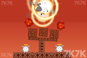《轰炸小恶魔》游戏画面1