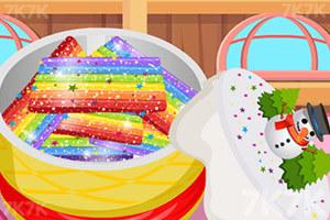 《彩虹糖饼干》游戏画面1