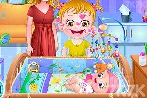《可爱宝贝照顾弟弟》游戏画面1