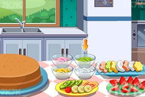 《七彩水果生日蛋糕》游戏画面5
