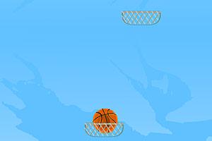 《空中篮球》游戏画面1