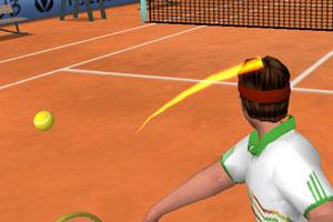 《3D网球竞技赛》游戏画面1